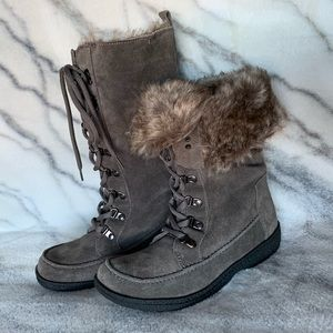 NEW Sam Edelman Lace Up Boots 7.5